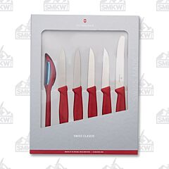 Victorinox Swiss Classic Paring Set Red