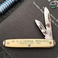Vintage Colonial Advertising Knife