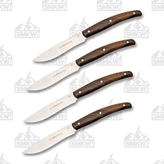 Viper Costata 4 Piece Set Zircote Wood