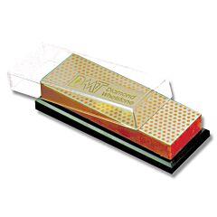 "DMT 6"" Bench Model Diamond Whetstone with Plastic Case - Fine 600 Grit"