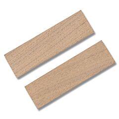 Walnut Wood Handle Slab Pair