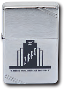Zippo A Weeks Trial Lighter