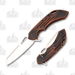 Olamic Cutlery Wayfarer 247 Sheepscliffe Black and Orange