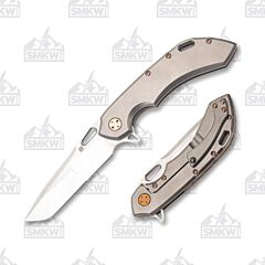 Olamic Cutlery Wayfarer 247 Satin Compound Light Blast