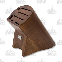 Wüsthof 10-Slot Burmese Walnut Knife Block