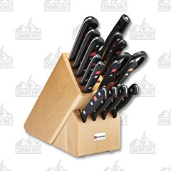 Wusthof Gourmet 16 Piece Maple Block Set