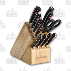 Wusthof Classic 12 Piece Wooden Block Set