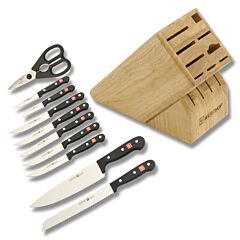Wusthof Gourmet 12pc Block Set