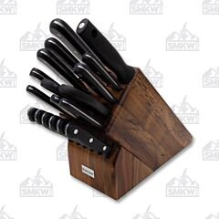 Wusthof Gourmet 18 Piece Promo Acacia Wood Block Set