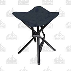 World Famous Black Camping Stool