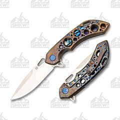 Olamic Wayfarer 247 Drop Point Entropic Rust