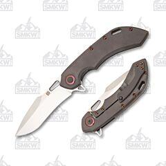 Olamic Cutlery Wayfarer 247 T473H Dark Blast