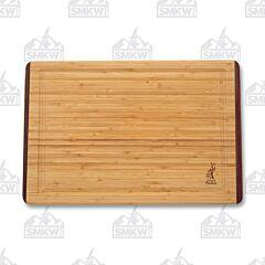 Island Bamboo Products 18x12 Rainbow Wood Bamboo Carving Board