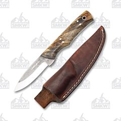 Weatherford Knife Co. Signature Series Buckeye Burl Wood Handles