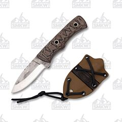 Weatherford Knife Co. Signature Series Medium Knife Brown and Black