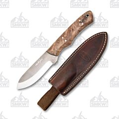 Weatherford Knife Co. Carolina Skinner Maple Burl Handles