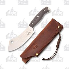 White River Bushcraft Camp Cleaver Black