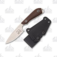 White River M1 Caper Natural Burlap Micarta