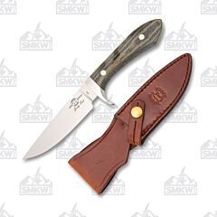 White River Sendero Classic OD Green and Black Micarta Handles