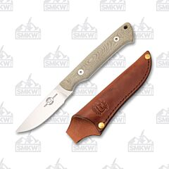 White River Small Game Hunter Green Micarta Handle