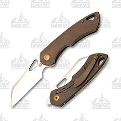 Olamic Cutlery Whippersnapper Wharncliffe Kinetic Earth Satin 271W