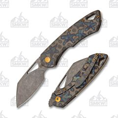 Olamic Whippersnapper Sheepsfoot Blue Flame Stars