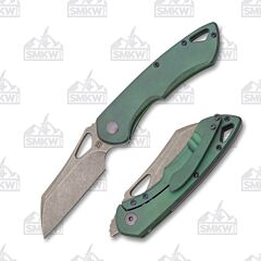 Olamic Cutlery Whippersnapper Wharncliffe WS394-W Kinetic Rainforest