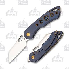 Olamic Cutlery Whippersnapper Wharncliffe WS396-W Kinetic Ocean