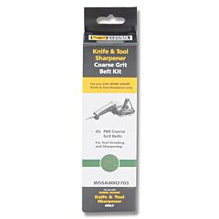Work Sharp Knife and Tool Sharpener Coarse Grit Replacement Belt Kit Model WSSA0002703