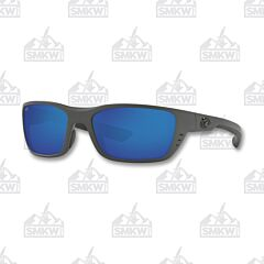Costa Whitetip Matte Gray Plastic Sunglasses