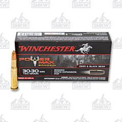 Winchester Power Max Bonded 30-30 Winchester 150 Grain Protected Hollow Point 20 Rounds