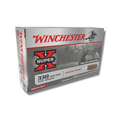 Winchester Super-X 338 Winchester Magnum 220 Grain Power-point Soft Point 20 Rounds