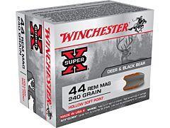 Winchester Super-X 44 Remington Magnum 240 Grain Hollow Soft Point 20 Rounds