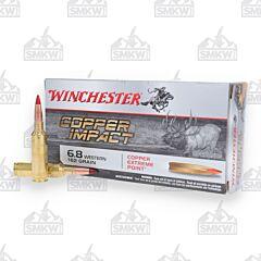 Winchester Ammo 6.8 Western 165 Grain Accubond Long Range 20 Rounds