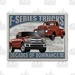 FORD - F-Series Trucks Tin Sign