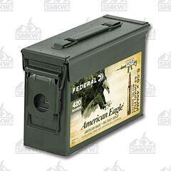 Federal American Eagle 5.56X45 NATO 62 Grain Full Metal Jacket 420 Rounds