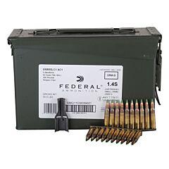 Federal XM 223 Remington/5.56 NATO 62 Grain Full Metal Jacket 420 Rounds
