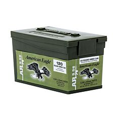 Federal American Eagle XM 223 Remington/5.56 NATO 62 Grain Full Metal Jacket 120 Rounds