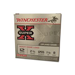 "Winchester Super X 12 Gauge 2.75"" #8 Lead 1oz 25 Rounds"
