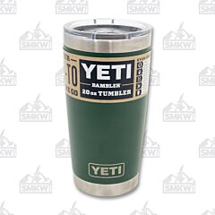 Yeti Rambler 20oz Northwoods Green with MagSlider