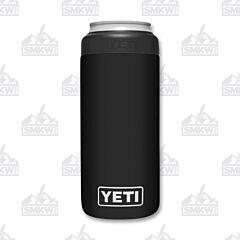 Yeti Rambler Colster Black Slim Can Insulator