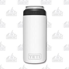 Yeti Rambler Colster White Slim Can Insulator