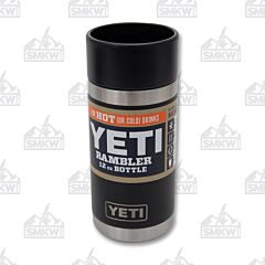 Yeti Black Rambler 12oz Bottle