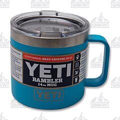 Yeti Rambler 14 oz Mug Reef Blue