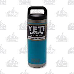 Yeti Rambler 18 oz Bottle Reef Blue