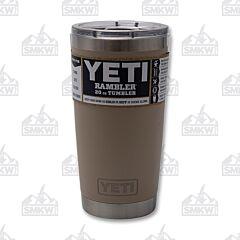 Yeti Rambler 20 oz Tumbler Sand Tan