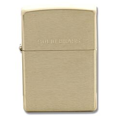 Zippo Classic Brushed Brass Lighter