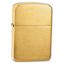 Zippo 1941 Replica Brushed Brass Lighter