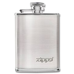 Zippo 3oz Capacity Stainless Steel Flask