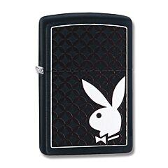 Zippo Playboy Black Matte Lighter